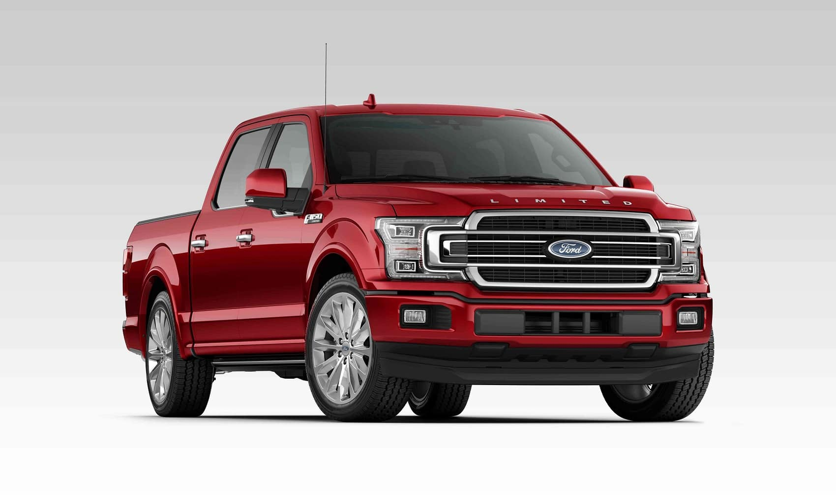 2019 F-150 Limted Crew Cab Ruby Red