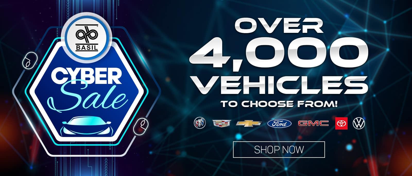 4000 vehicles