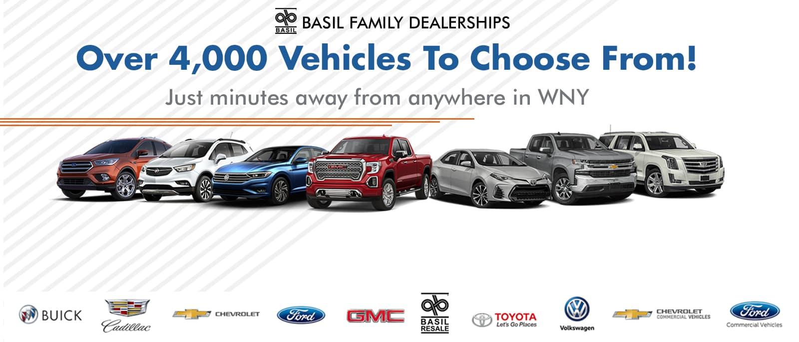 Basil Family Dealerships