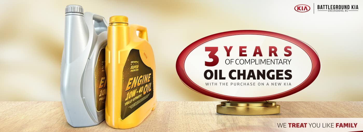 Complimentary Oil Changes