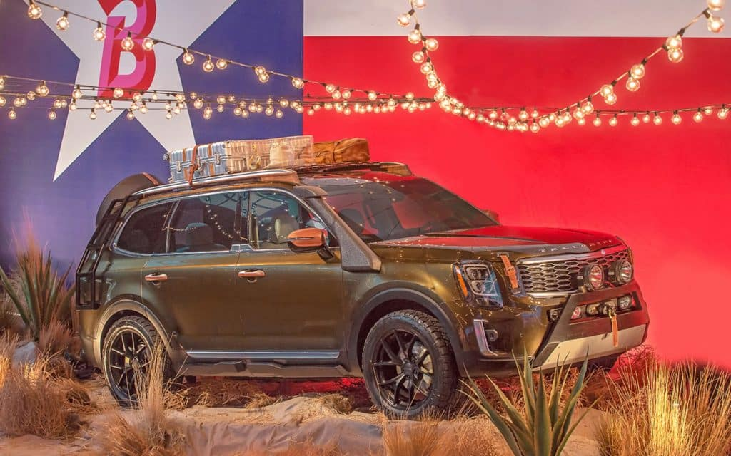 2020 KIA Telluride Battleground