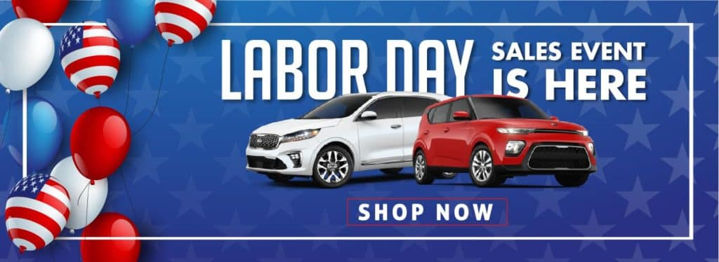 Kia Labor Day Specials for Winston Salem Shoppers