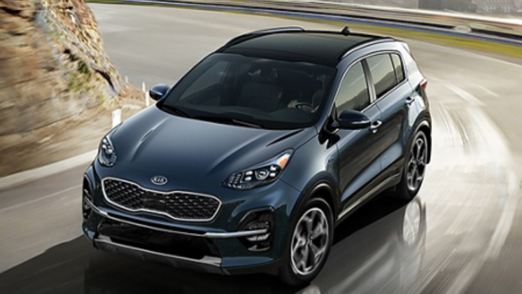 The KIA Sportage is a top compact SUV pick Greensboro
