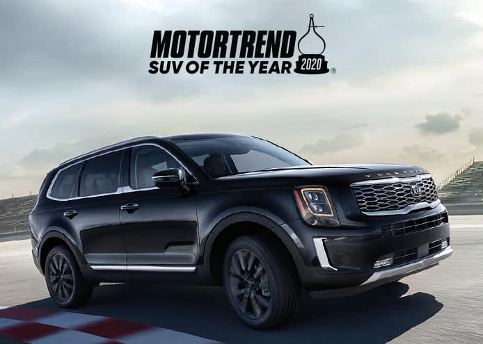 2020 Kia Telluride is MotorTrend's SUV of the Year