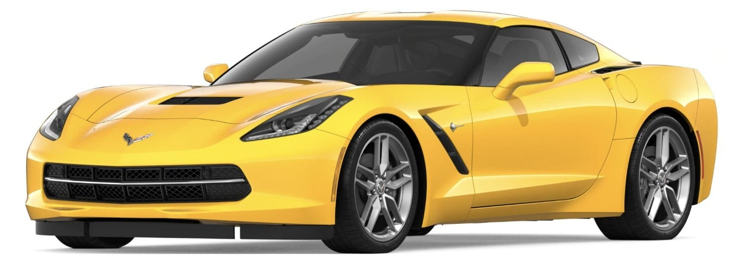 Screenshot of 2019 Corvette Stingray_ Sports Car _ Chevrolet
