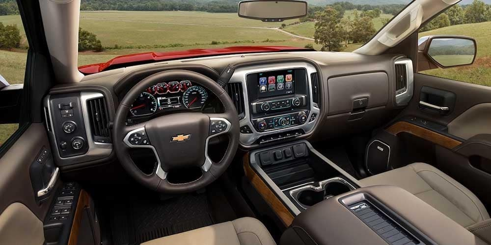 2018 Chevy Silverado 1500 Interior Gallery 5