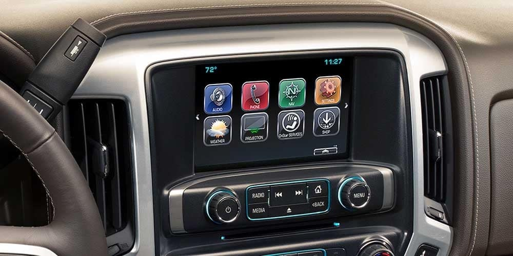 2018 Chevy Silverado 1500 Interior Gallery 8