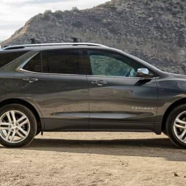 2019 Chevrolet Equinox ON Beach with Trunk Open