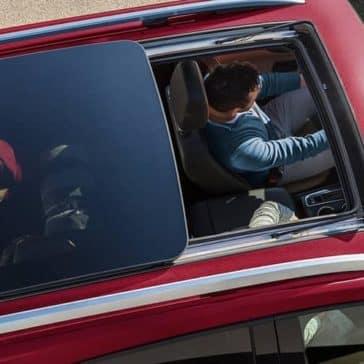 2019 Chevrolet Equinox Overhead View of Sunroof