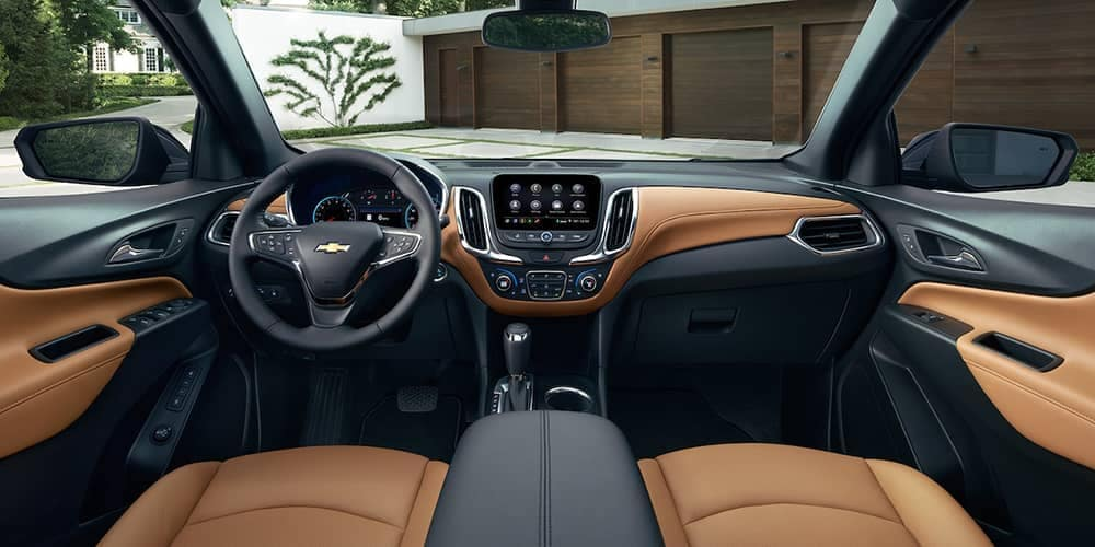 2019 Chevrolet Equinox Interior Dashboard and Seats