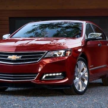 2019 chevrolet impala angled parked