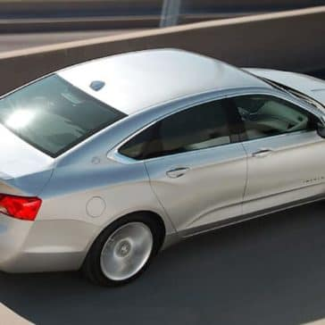 2019 chevrolet impala driving on highway