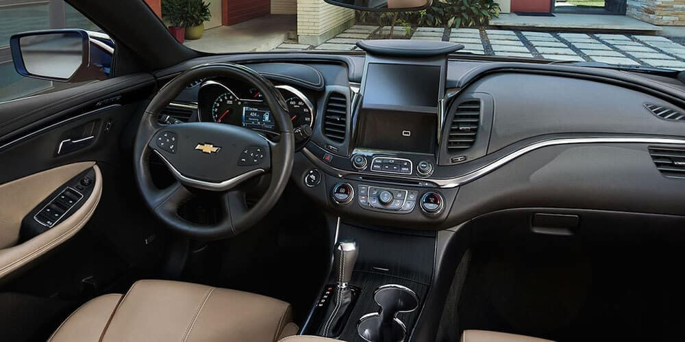 2019 chevrolet impala interior black and tan