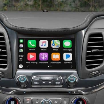 2019 chevrolet impala interior radio