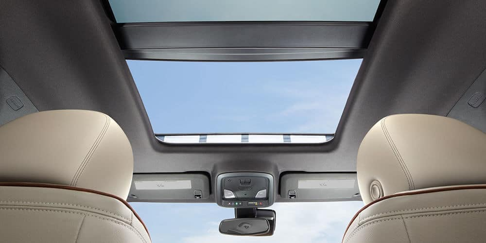 2019 chevrolet impala interior sunroof