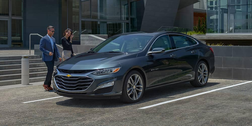 2019 Chevy Malibu Parked