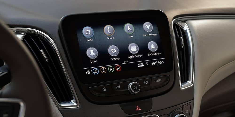 2019 Chevy Malibu Touchscreen