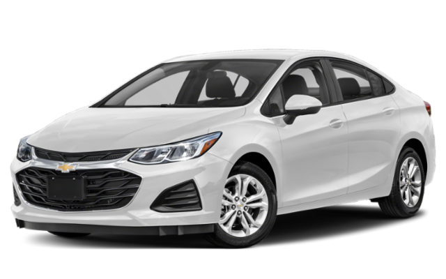 2019 Chevrolet Cruze in white