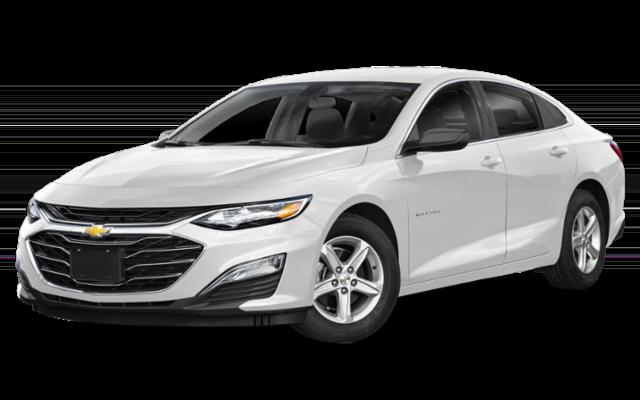 2019 Chevrolet Malibu in white