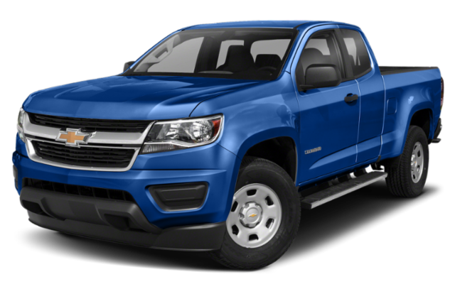 2019 Chevrolet Colorado in blue