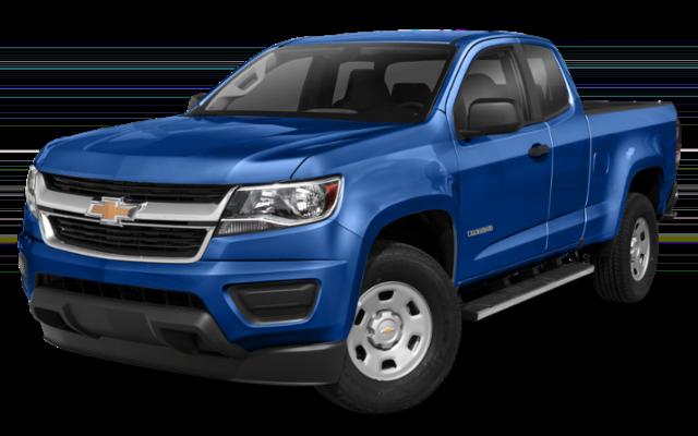 2019 Chevrolet Colorado in blue