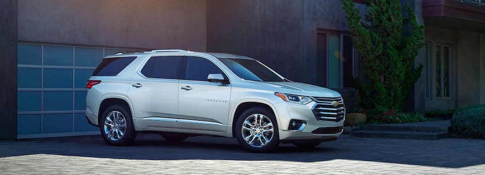 2019 Chevrolet Traverse in white