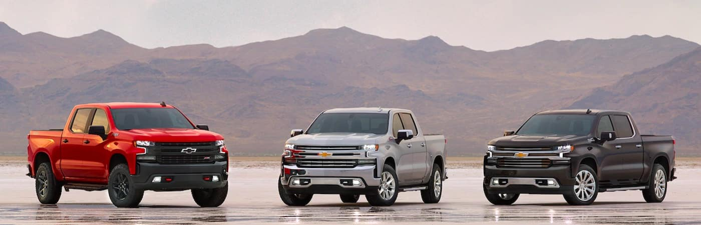2019 Chevy Silverado models