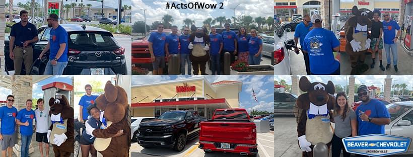 Random Act of WOW #2 Beaver Chevrolet Wawa Free Gas Giveaway