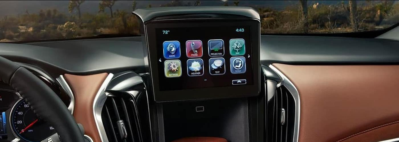 2019 infotainment-screen