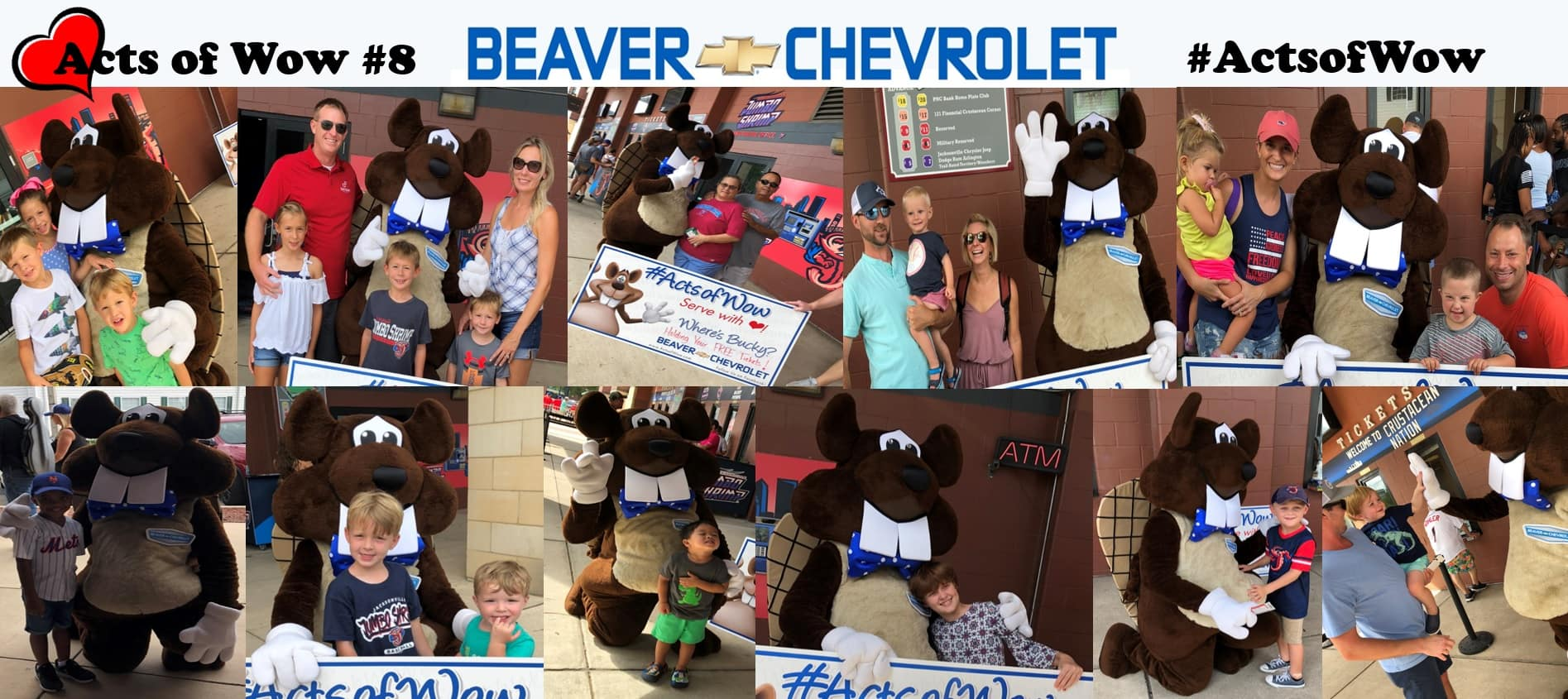 Acts of Wow #8  Beaver Chevrolet Jacksonville FLorida