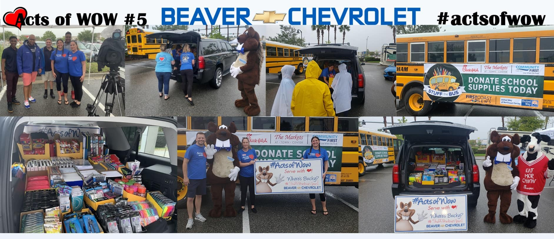 Acts of Wow #5 Beaver Chevrolet Jacksonville Florida