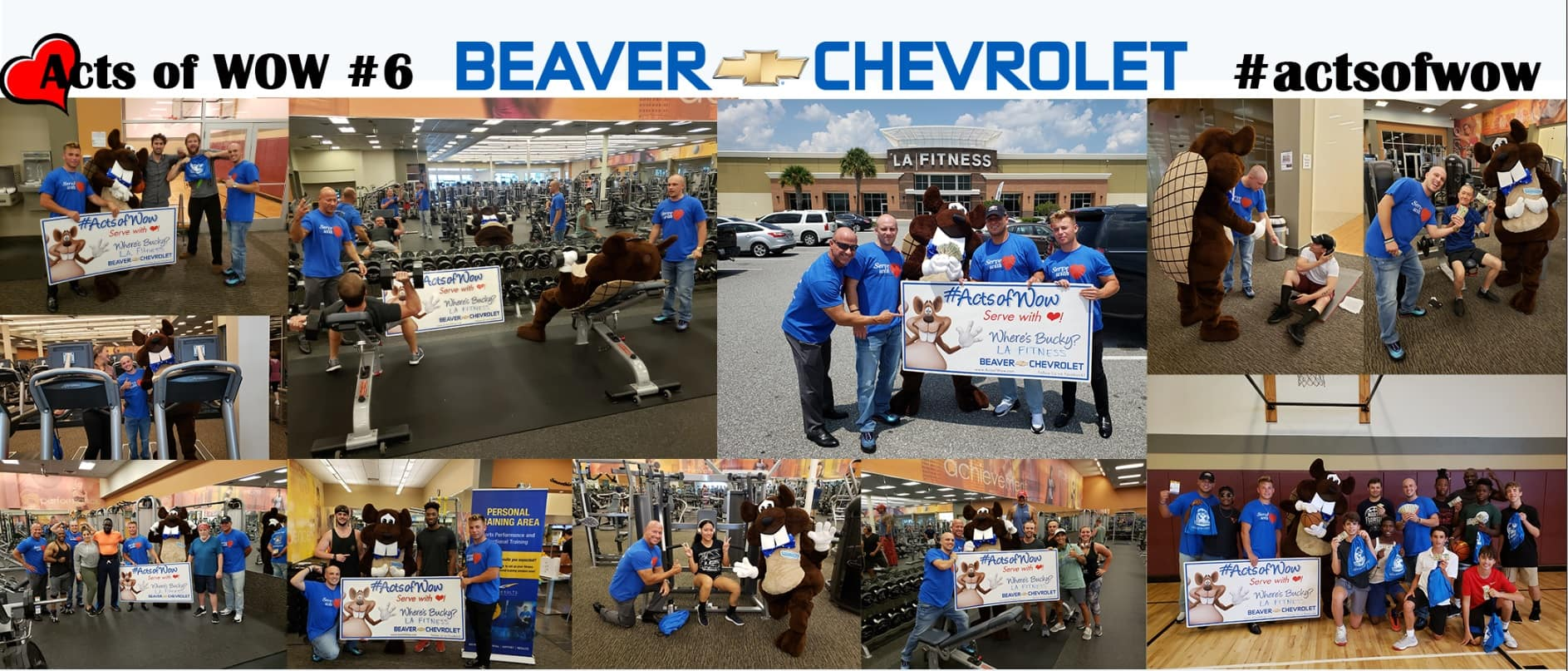 Acts of Wow #6 Chevrolet Dealership Jacksonville Florida
