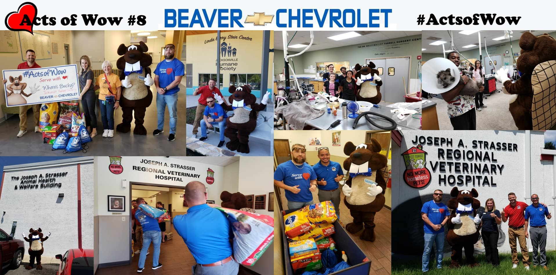 Acts of Wow #10 Collage Beaver Chevrolet Jacksonville Florida