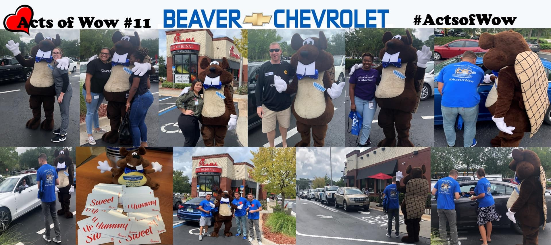 random acts of wow #11 beaver chevrolet jacksonville florida