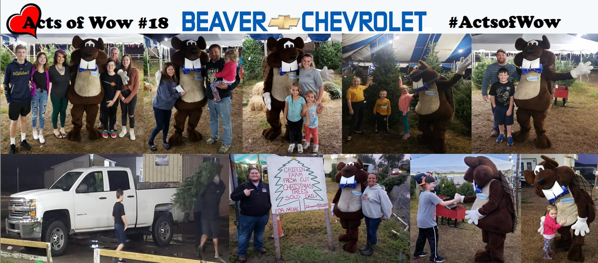 Acts of Wow #18 Collage Beaver Chevrolet Jacksonville Florida