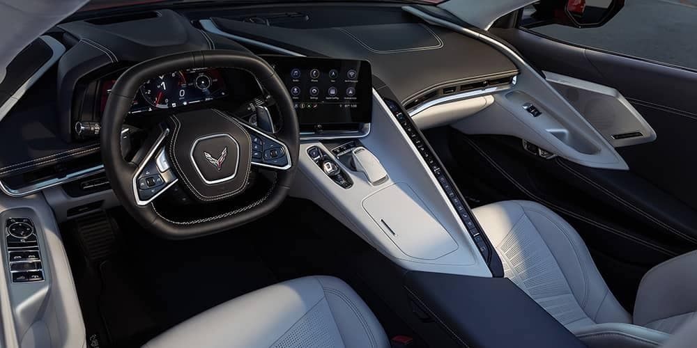 2020 Chevy Corvette Dash