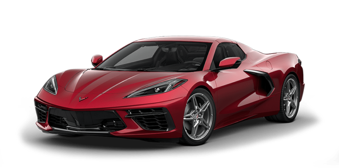 2020 Chevy Corvette Red