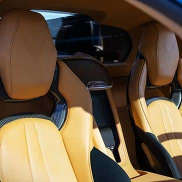2020 Chevy Corvette Seating