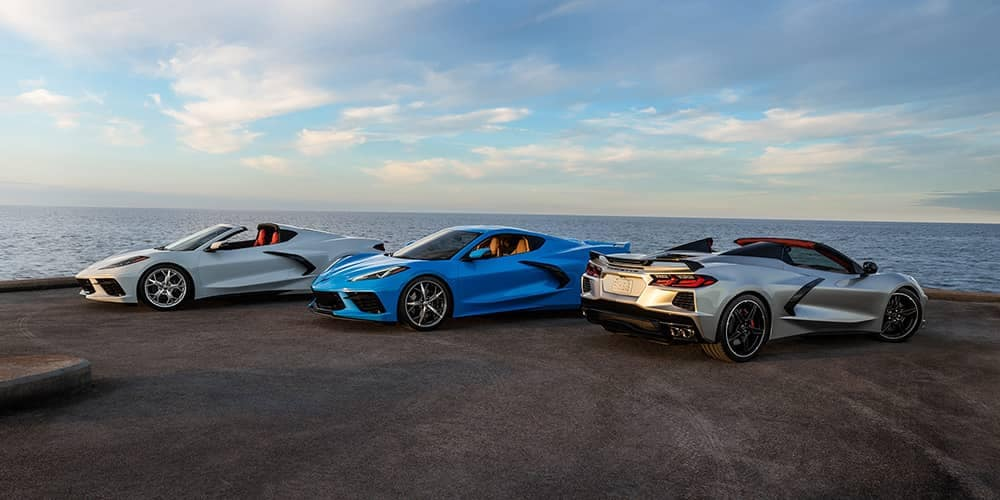 2020 Chevy Corvette Trio
