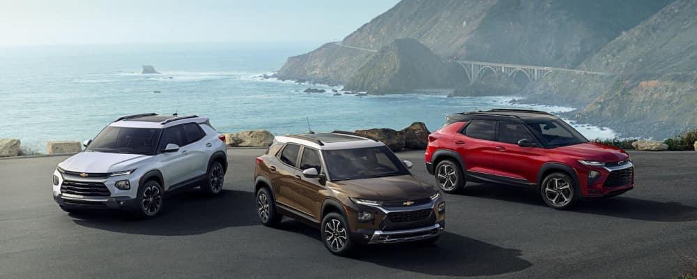 2021 Chevrolet trailblazer colors near shore