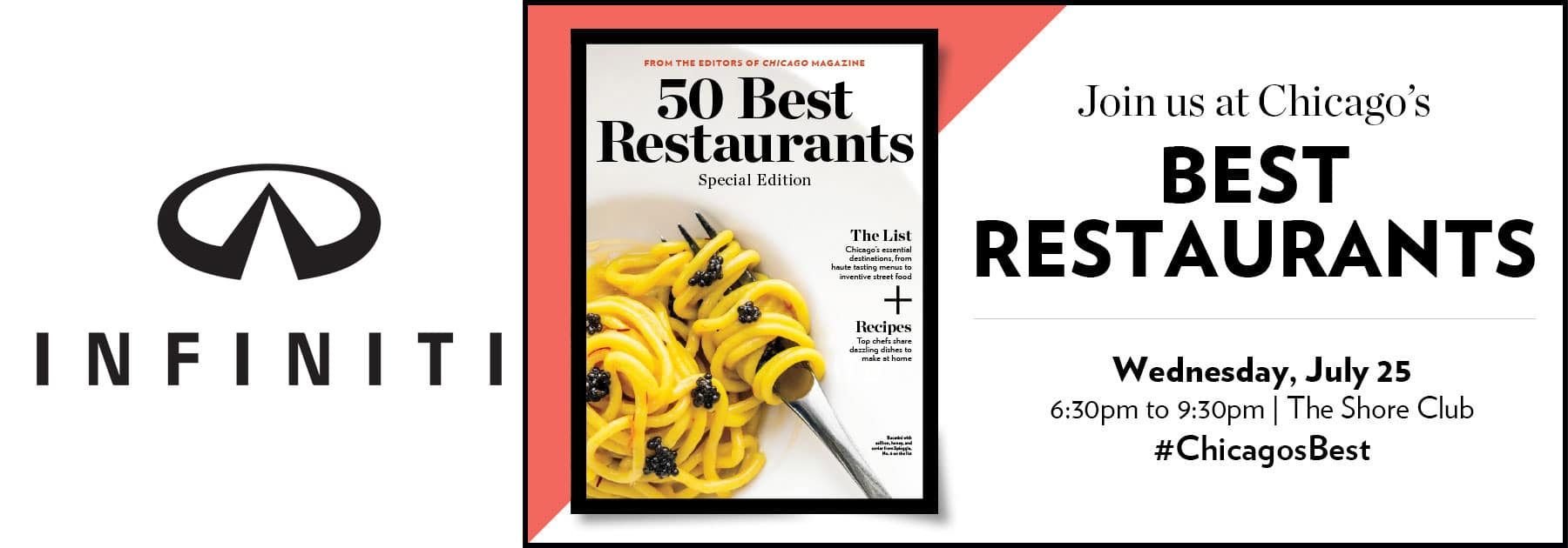 Chicago Magazine 50 Best Restaurants Event