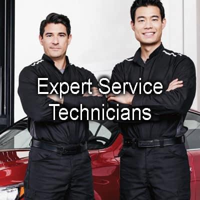Expert Service Technicians
