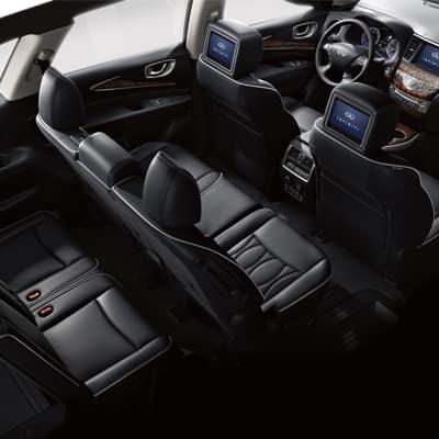 2017 INFINITI QX60 Interior