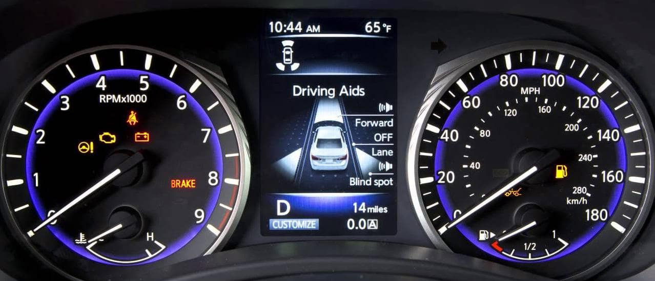 Check Engine Light at Berman INFINITI Chicago