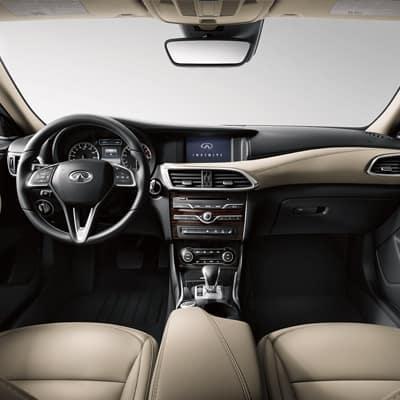 Pre-Owned 2017 INFINITI QX30 Interior