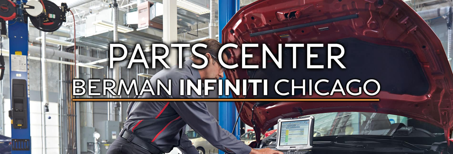Parts Center at Berman INFINITI of  Chicago