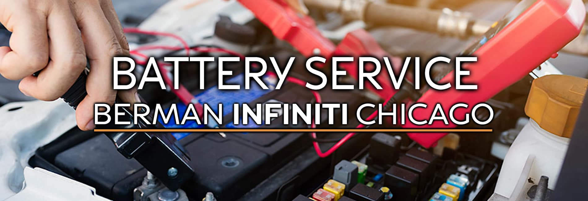INFINITI Battery Service at Berman INFINITI Chicago