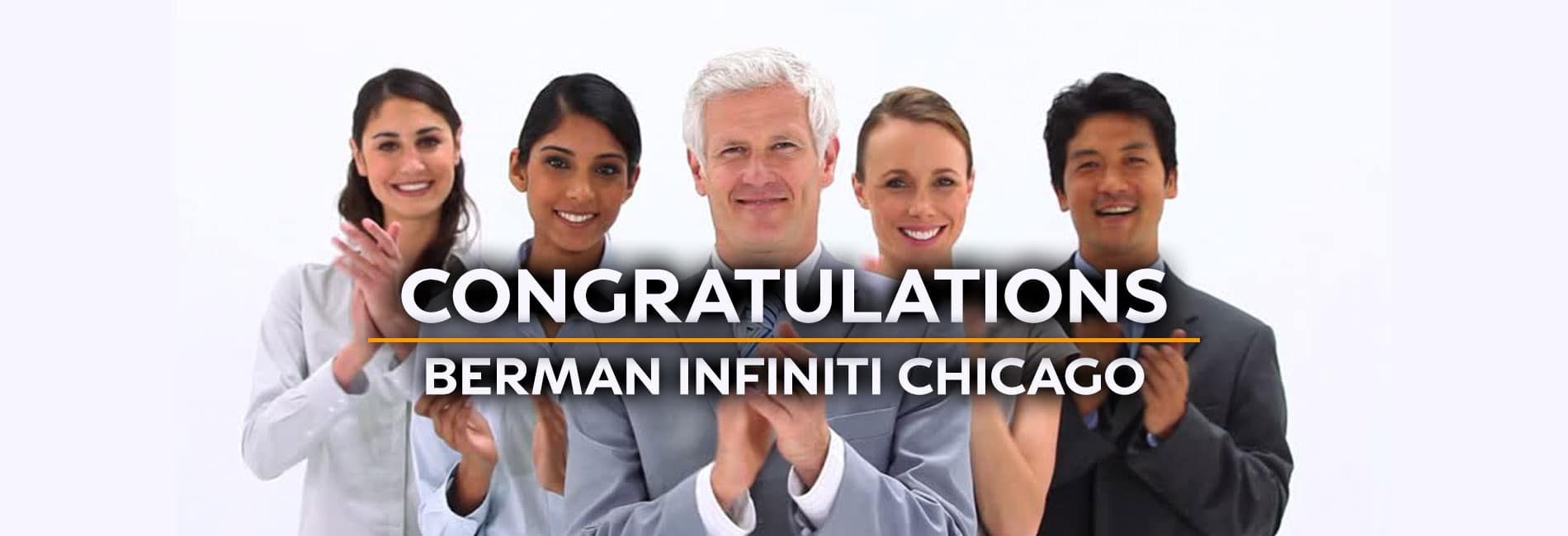 Congratulations from Berman INFINITI Chicago