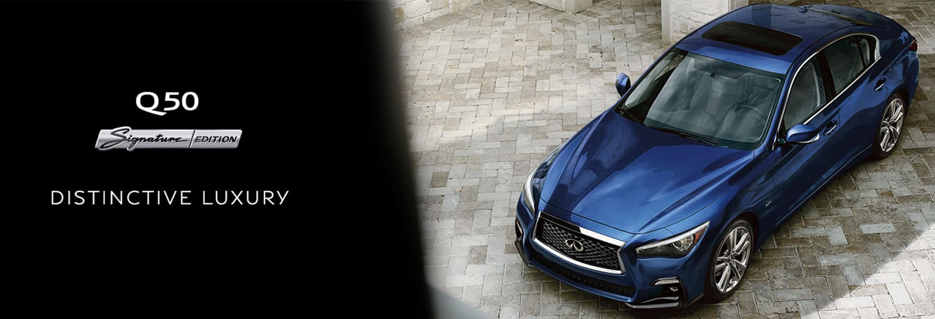 Shop the Q50 Signature Edition at Berman INFINITI Chicago!