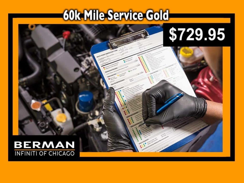 60k Mile Service Special | Gold: $729.95